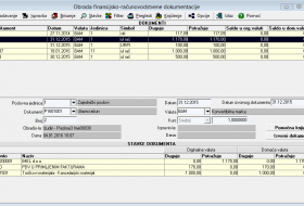 Obrada finansijsko-računovodstvene dokumentacije